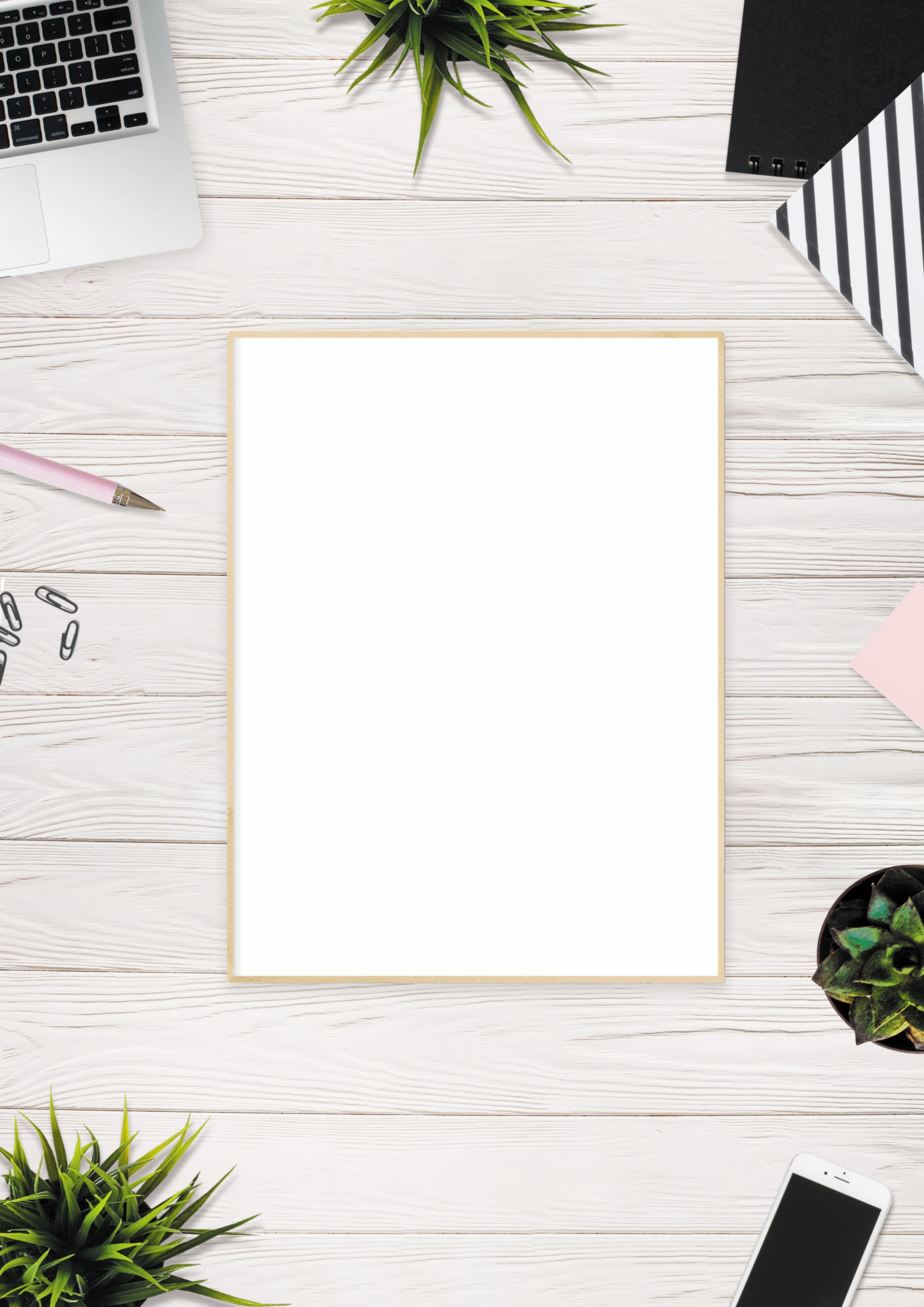 white board on beige surface free stock photo