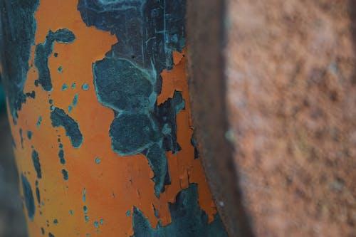 切削油漆, 放棄, 橙色油漆, 油漆切削 的 免費圖庫相片