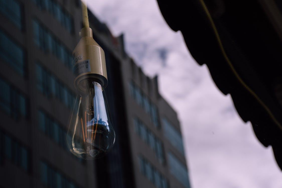 ぶら下がり, ガラス, 光