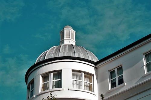 bina, camlar, gökyüzü, kubbe içeren Ücretsiz stok fotoğraf