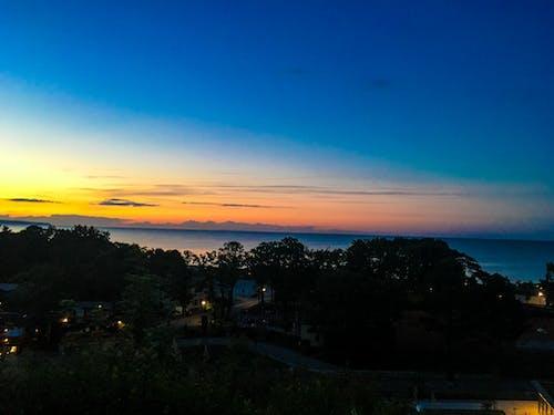 Foto stok gratis awan, biru, jerman, langit