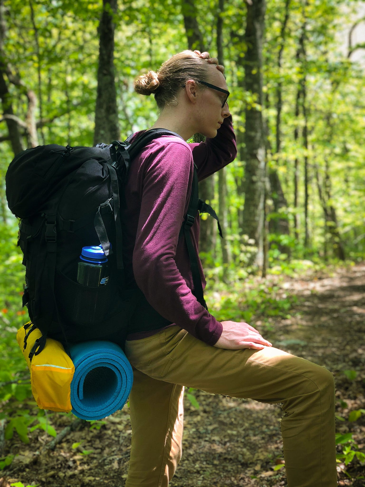 Free stock photo of backpacker, cherokee national forest, hiker, trail