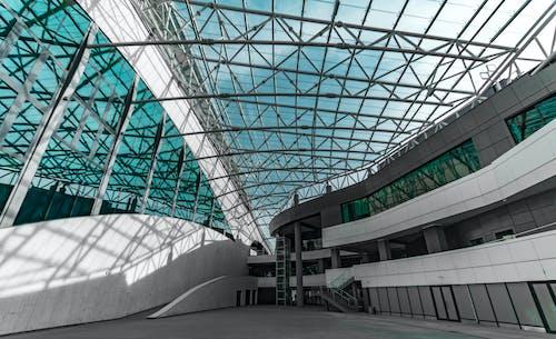 天花板, 室內, 建築設計, 建造 的 免费素材照片