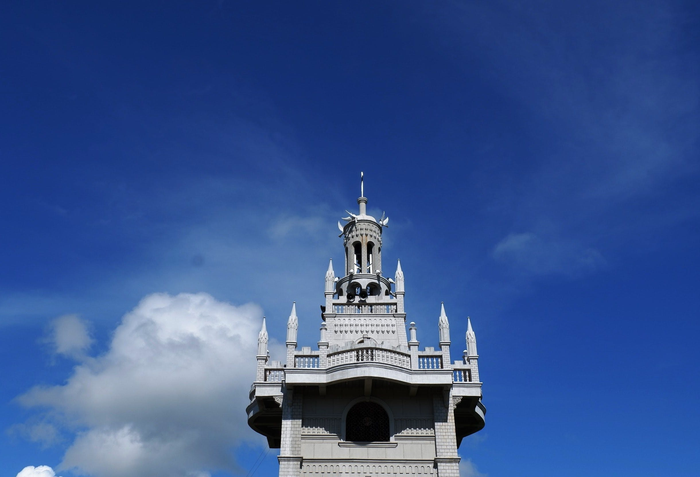 castle, day, Simala