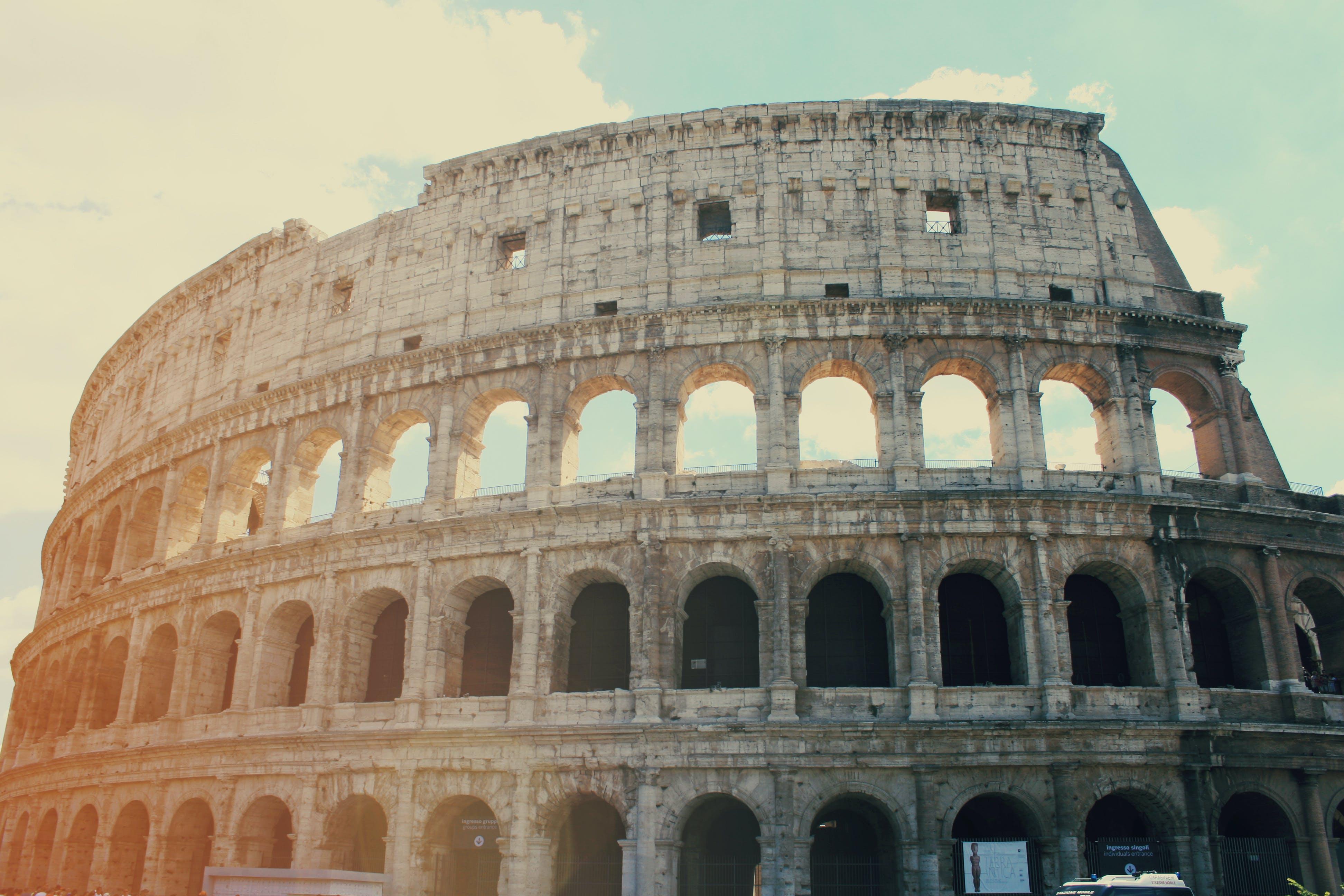 amphitheatrum flavium, architektur, coliseum