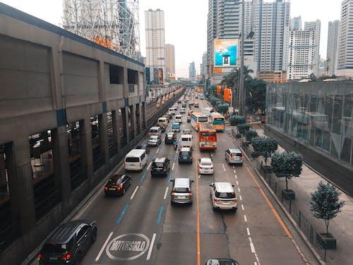 Free stock photo of bumper car, cars, city, cityscape