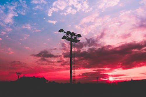 Gratis lagerfoto af aften, bagbelyst, baggrunde, himmel