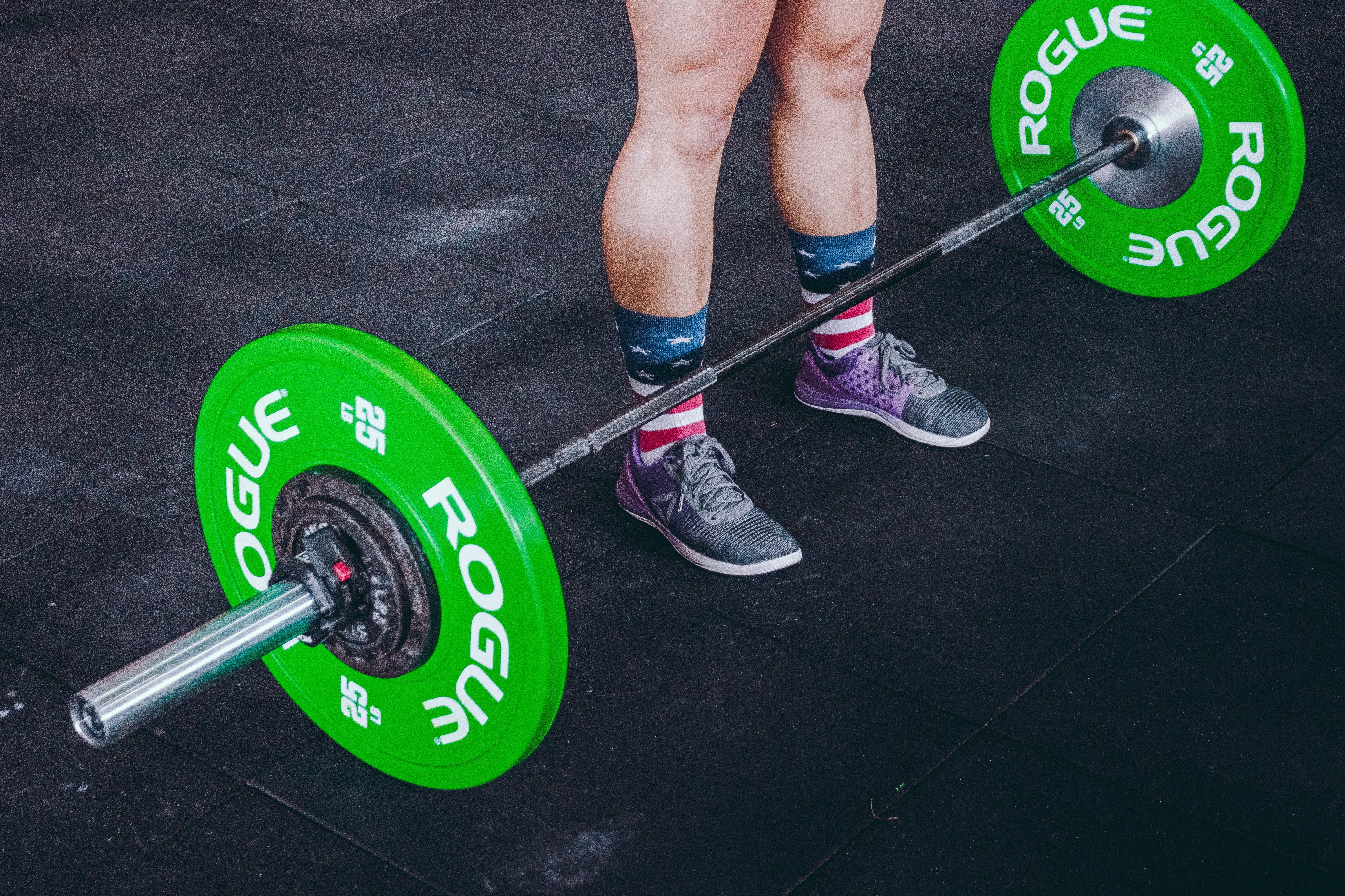 Foto stok gratis alas kaki, Angkat Berat, atlet, baja