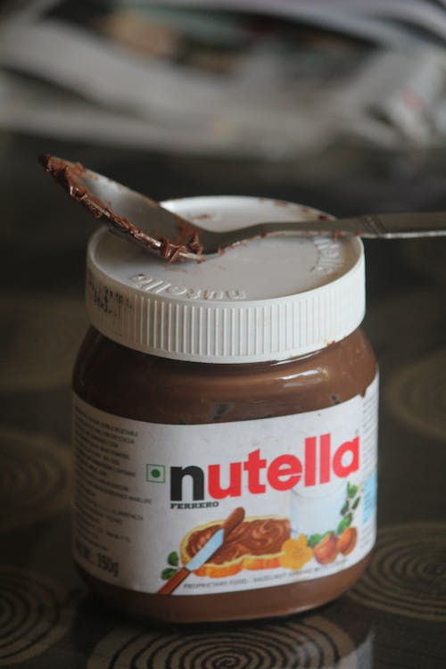 chocolate, happiness, nutella