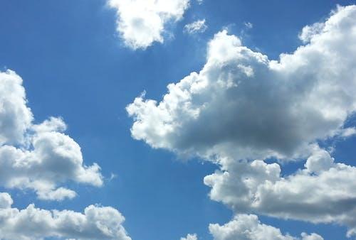Gratis arkivbilde med blå himmel, himmel, skyer, sol