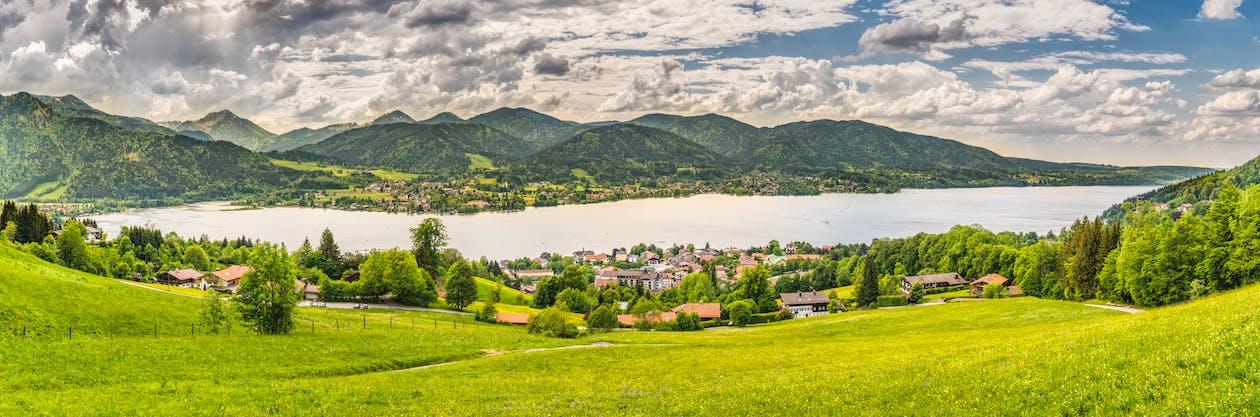 Alpok, Bajorország, ég