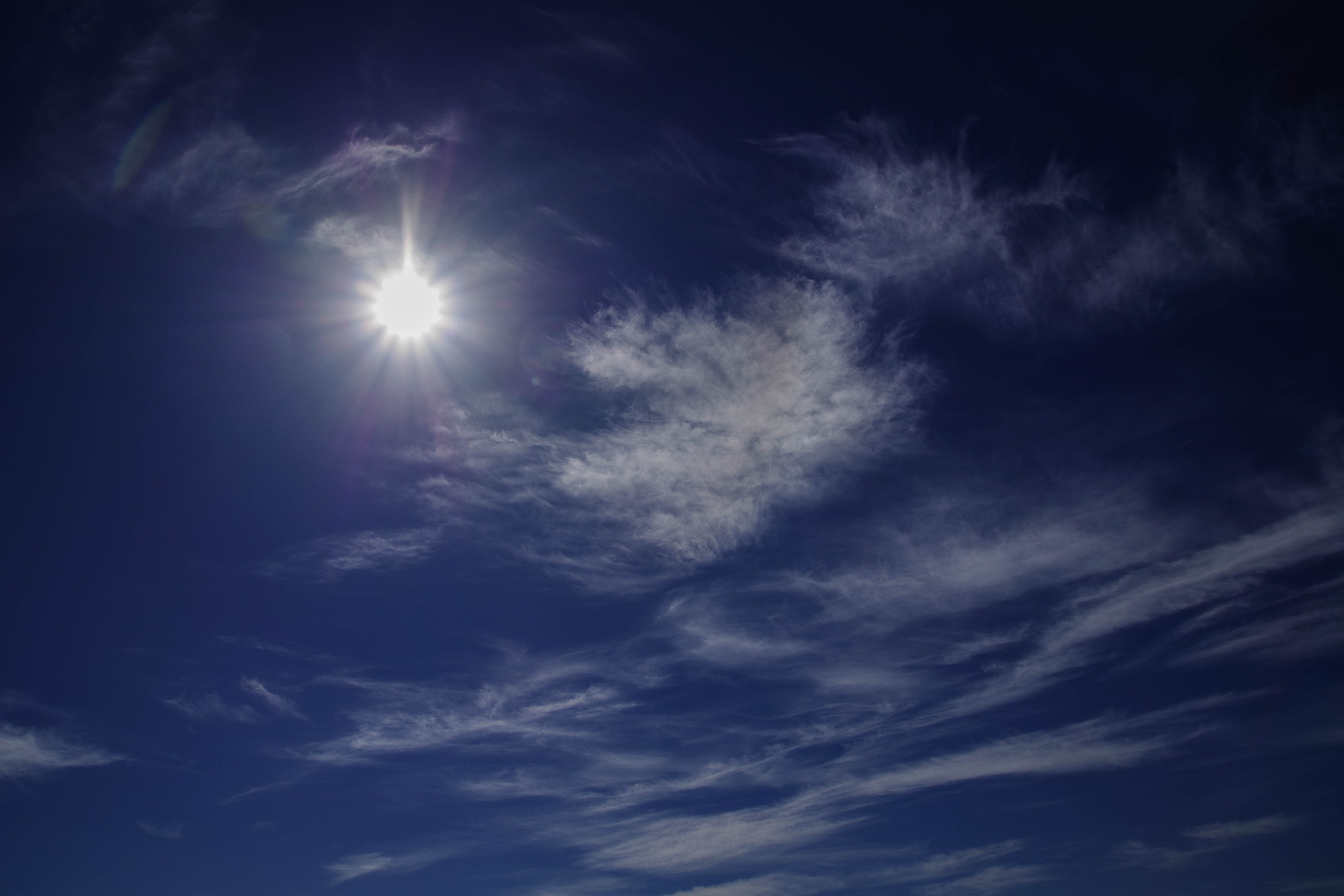 Photography of Blue Sky With Clouds