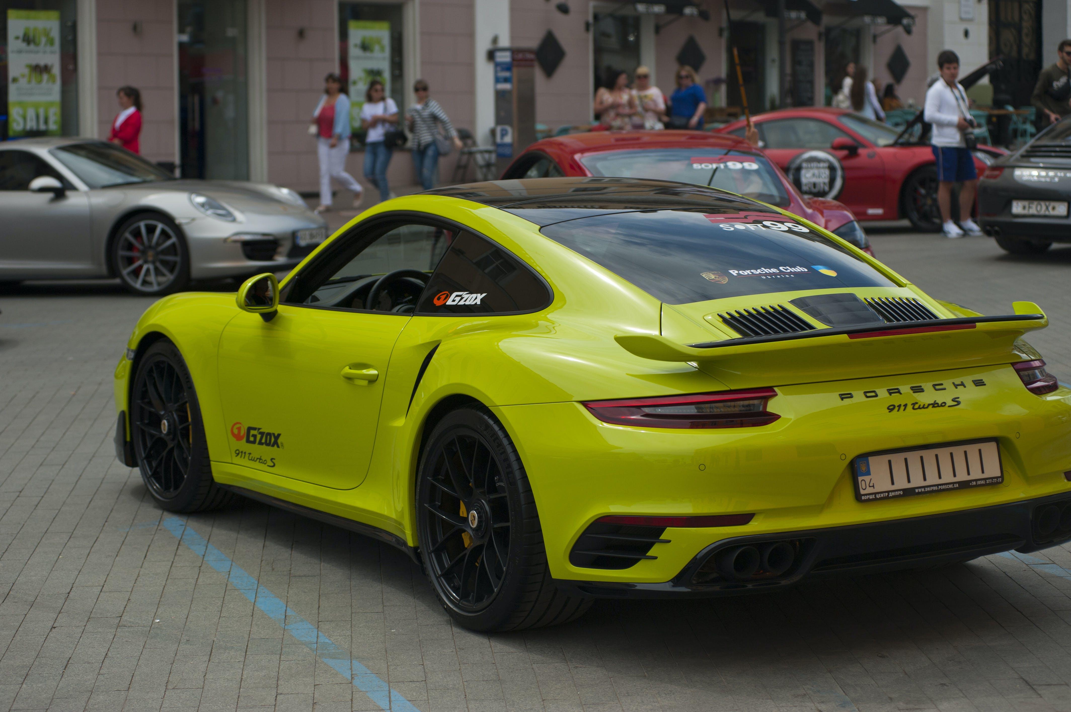 Free stock photo of porsche, sports car