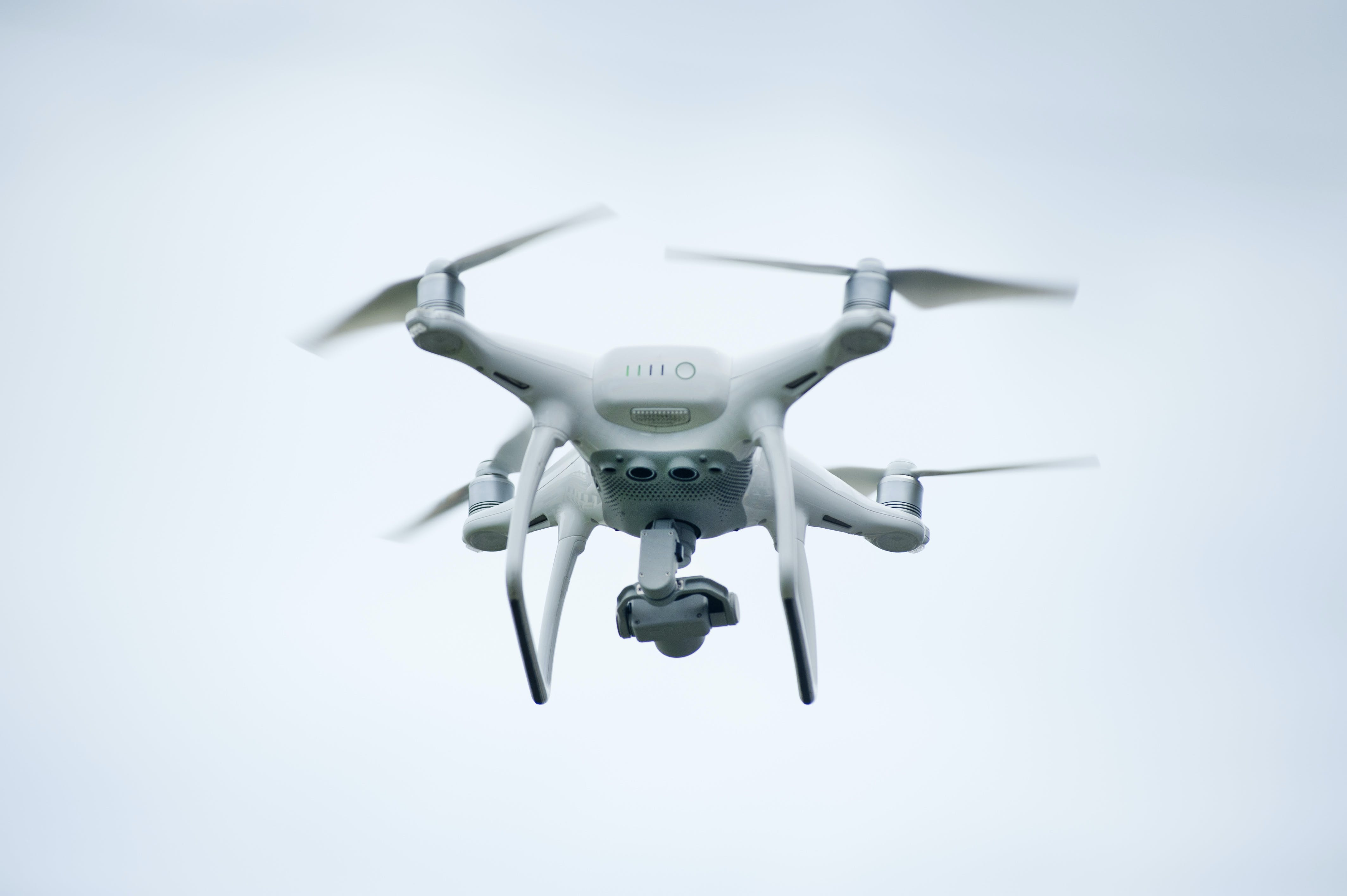 White Quadcopter Drone