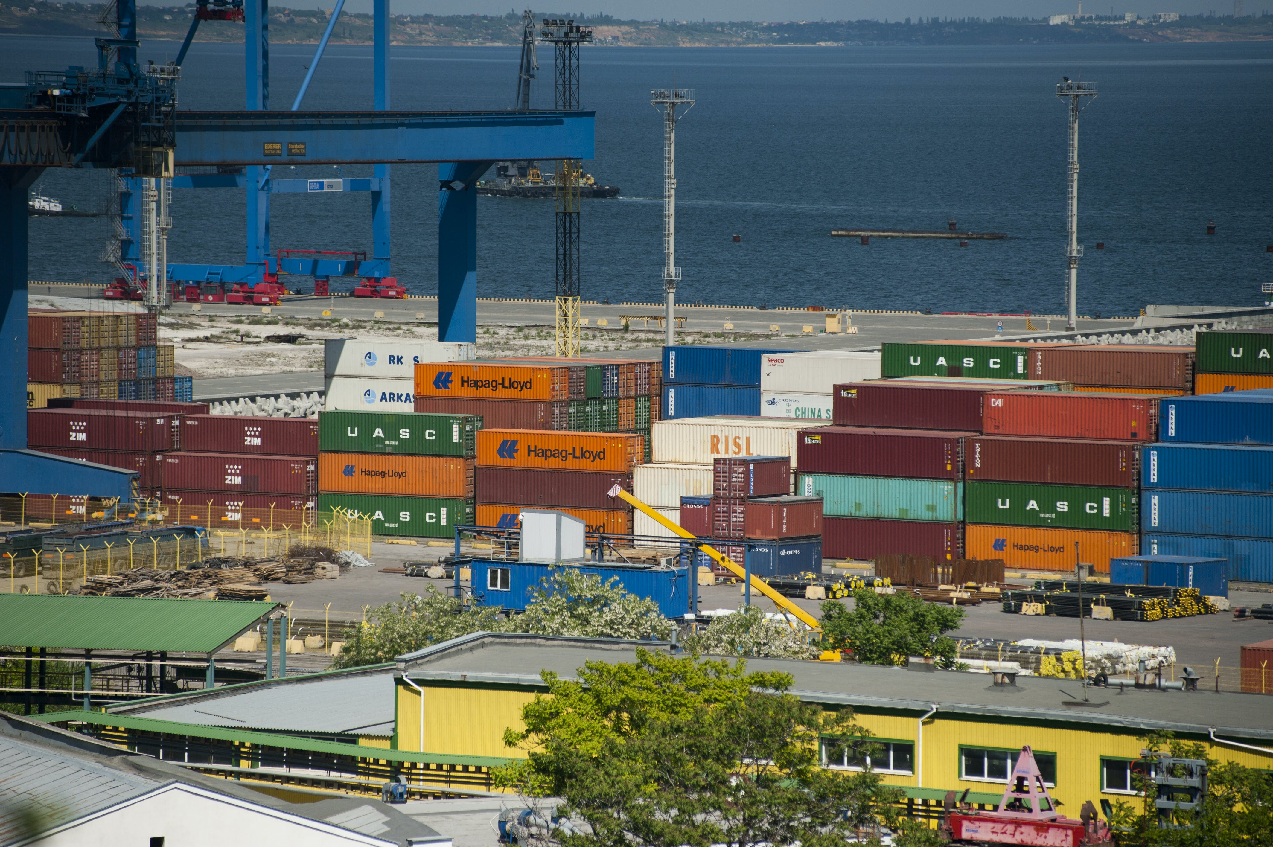 Free stock photo of port, cargo container, cargo containers