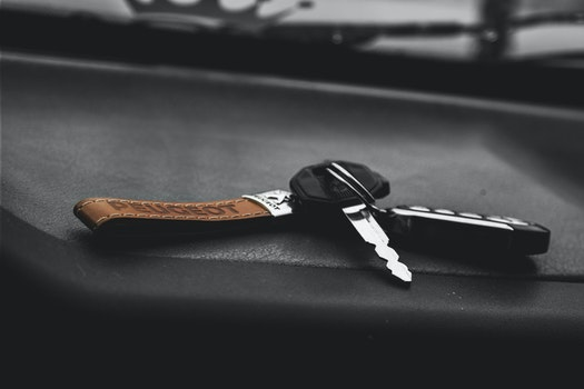Stainless Steel Car Keys