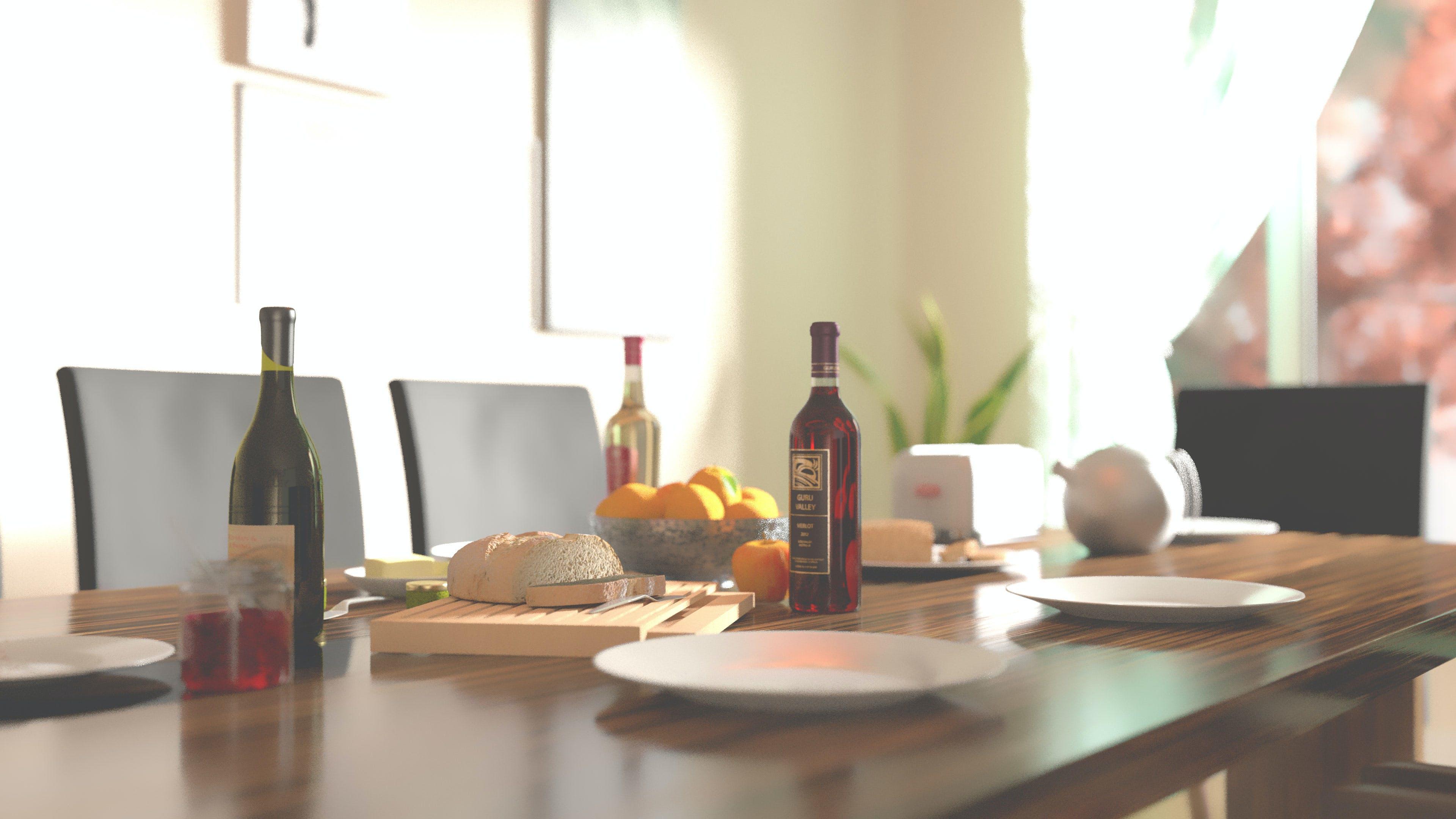 Kostenloses Stock Foto zu essen, flasche, frühstück, morgen