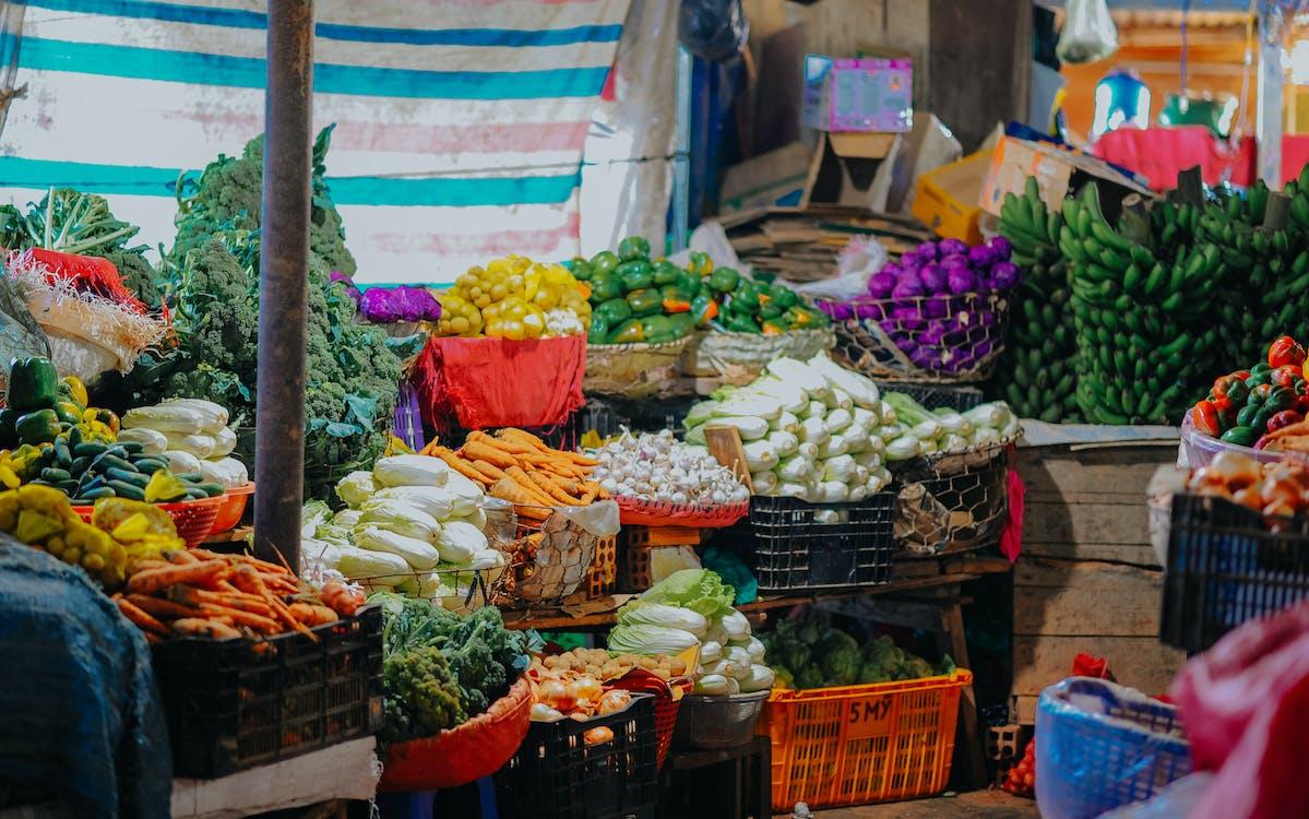 Fotos de stock gratuitas de calle, comida, comprando