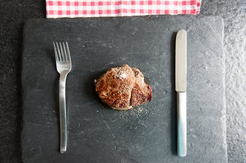 Free stock photo of beef, cutlery, dining, dinner