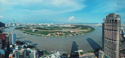 Free stock photo of building, city, panoramic view, sky