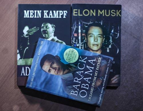 Foto stok gratis adolf, barack obama, bersejarah, buku-buku