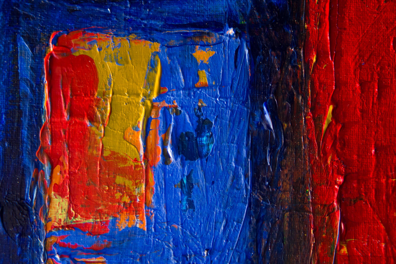 Kostenloses Stock Foto zu kunst, malerei, abstrakt, nahansicht