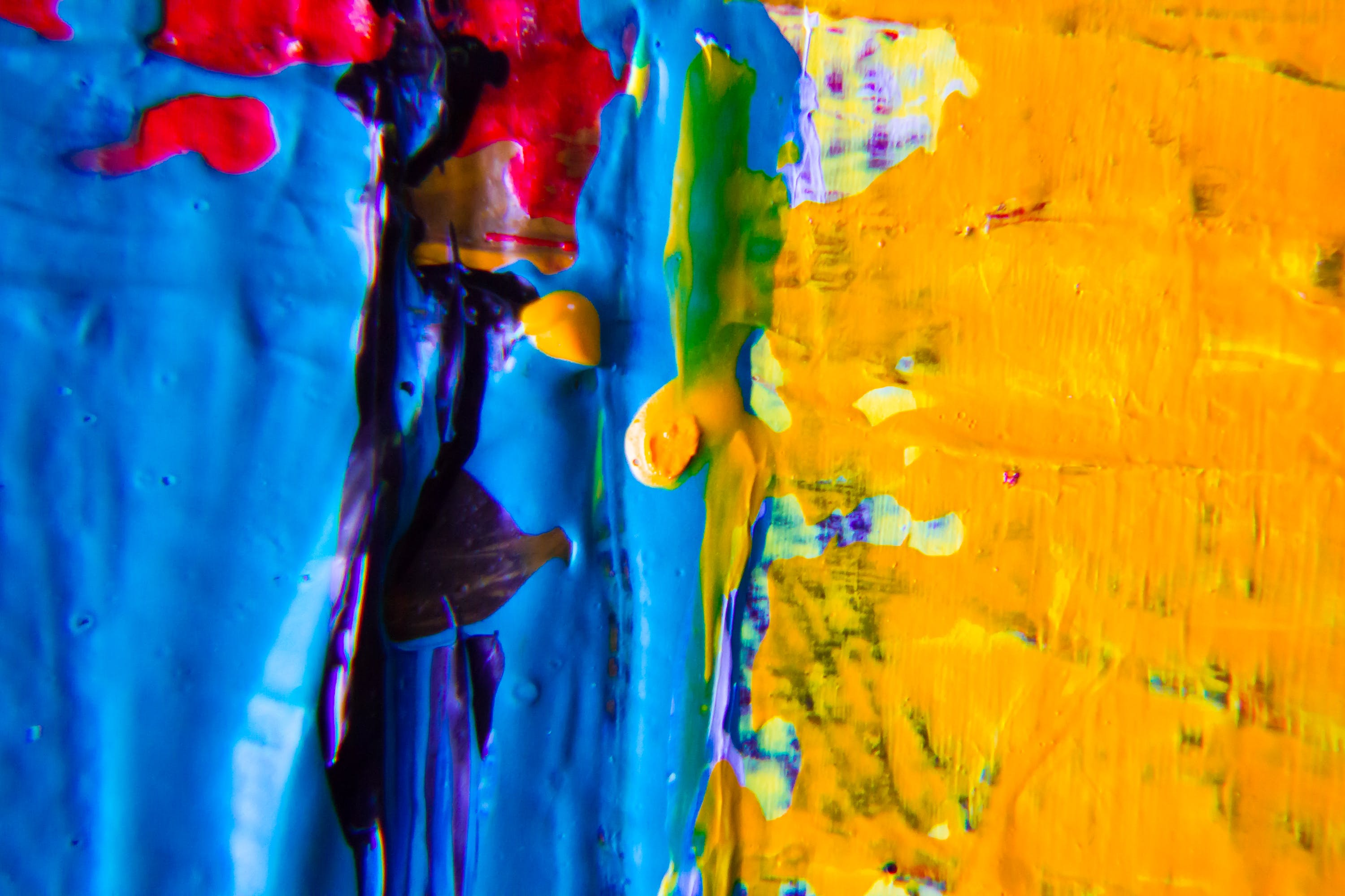 Free stock photo of abstract expressionism, acrylic paint, background, contemporary art
