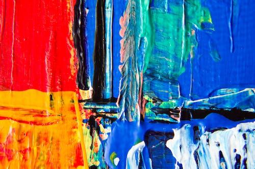 Безкоштовне стокове фото на тему «абстрактна картина, абстрактний експресіонізм, барвистий, великий план»