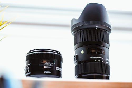 Безкоштовне стокове фото на тему «електроніка, жалюзі, лінза фотоапарату, масштабування»