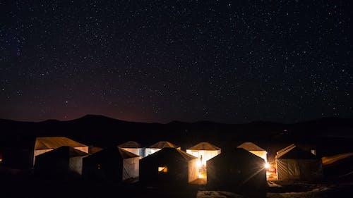 Photos gratuites de afrique, camper, camping, célébrité