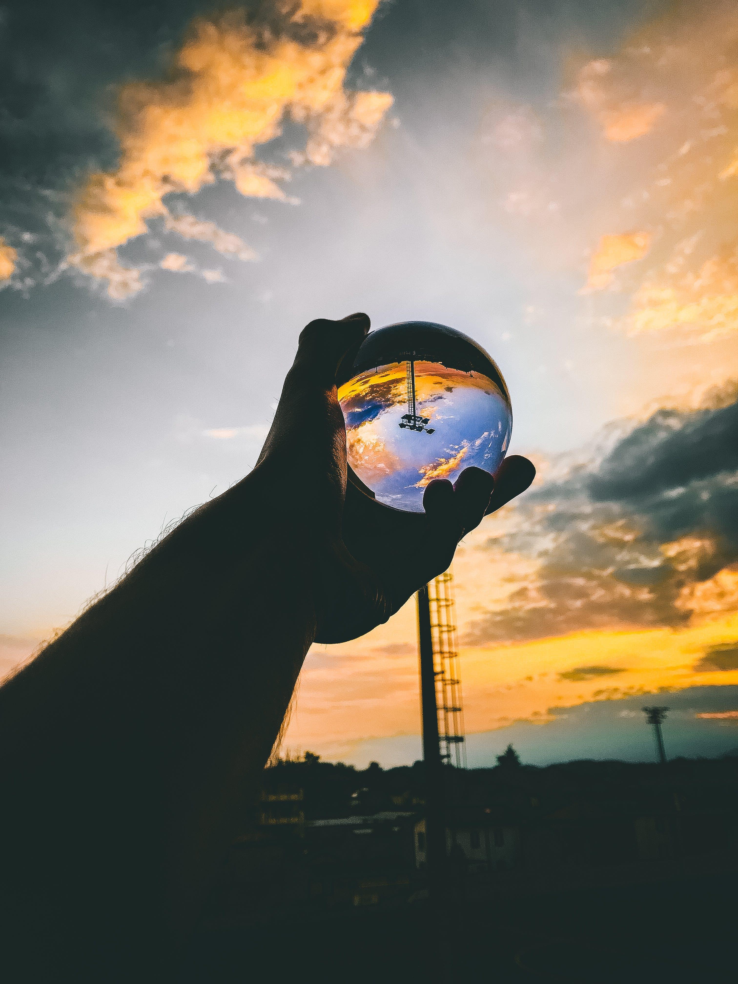 Ingyenes stockfotó ég, energia, este, felhők témában