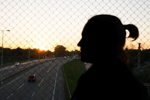 Free stock photo of freeway, shadow, sun, sunset