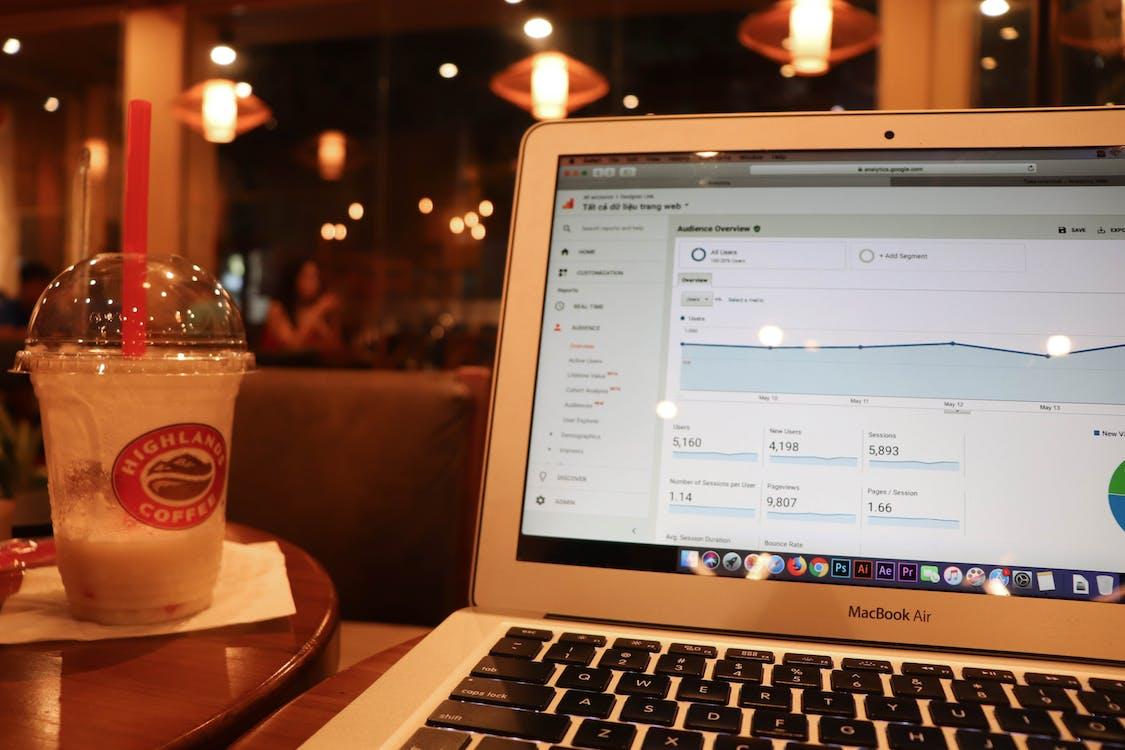 Free stock photo of coffee, coffee time, google analytics