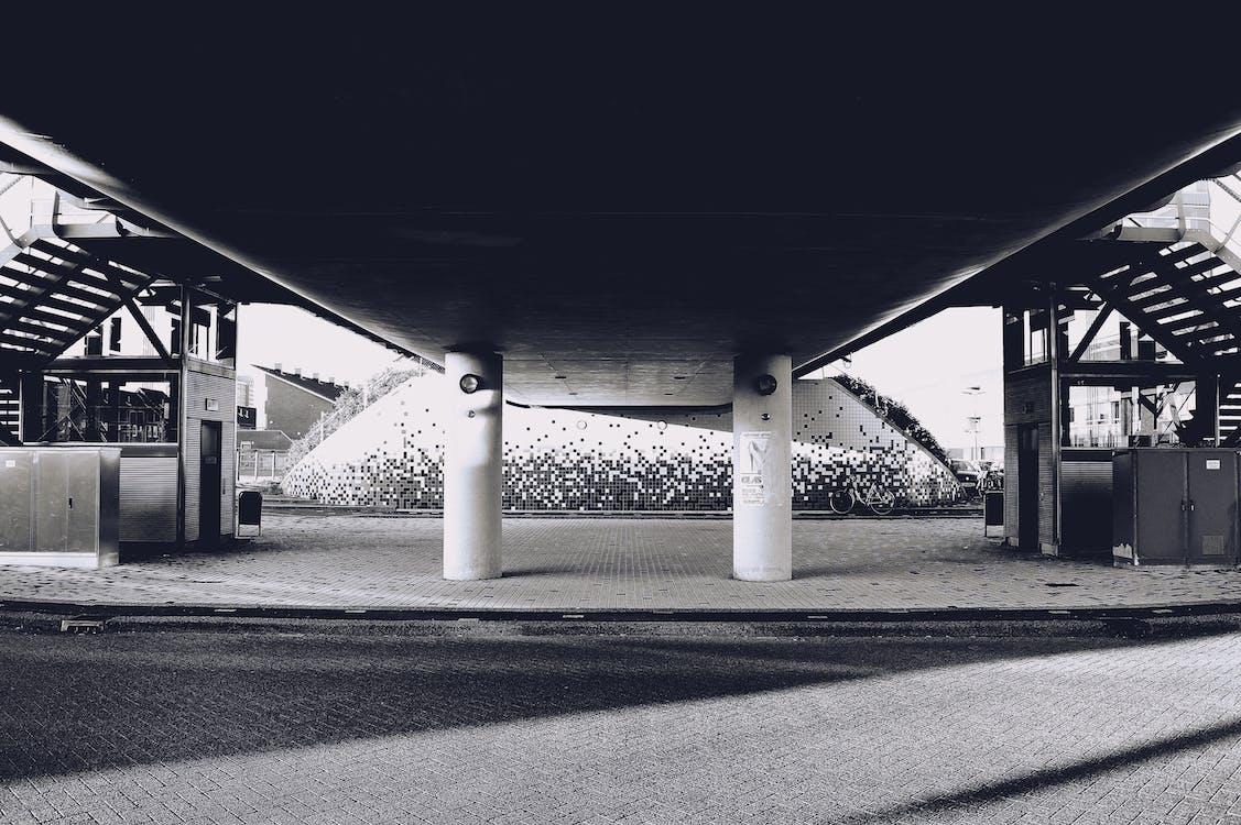 Empty Concrete Building Near Road