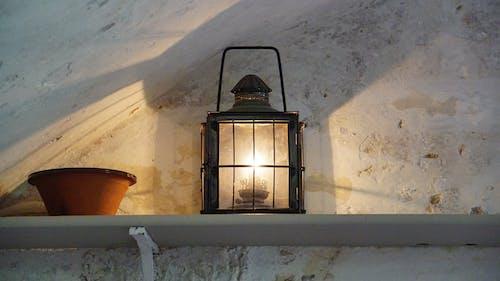 Foto stok gratis bangunan, bayangan, bejana, cahaya