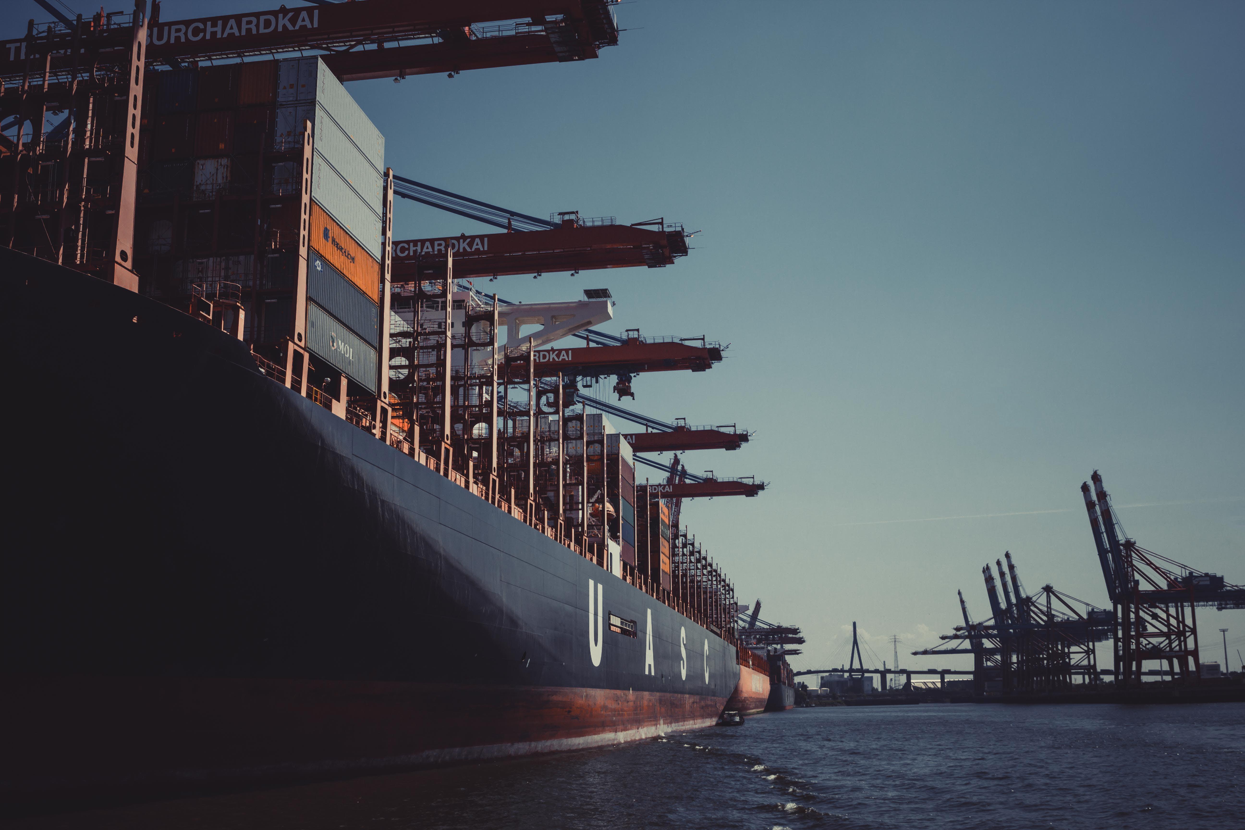 bầu trời, bến cảng, bến du thuyền