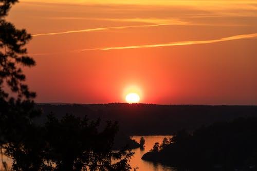 Kostenloses Stock Foto zu abendsonne, hübsch, schweden, skandinavisch