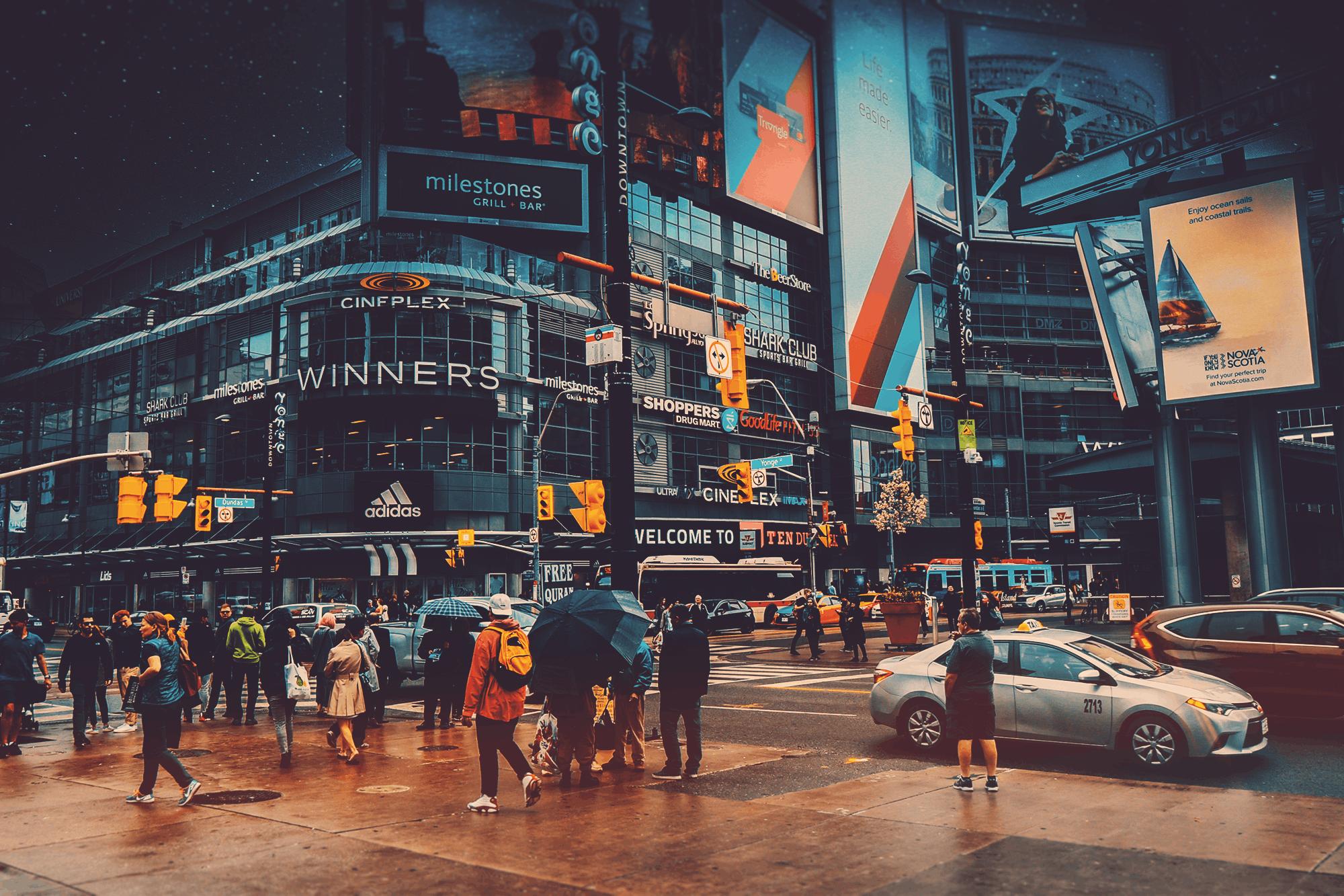 các tòa nhà, giao thông, hệ thống giao thông