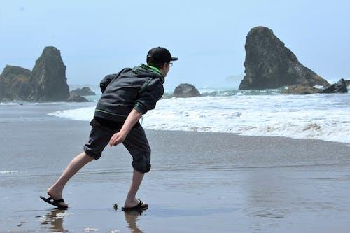 キッド, ビーチの無料の写真素材