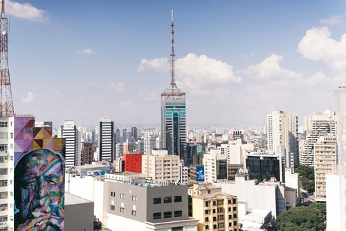 binalar, kentsel, kentsel görüş, manzara içeren Ücretsiz stok fotoğraf