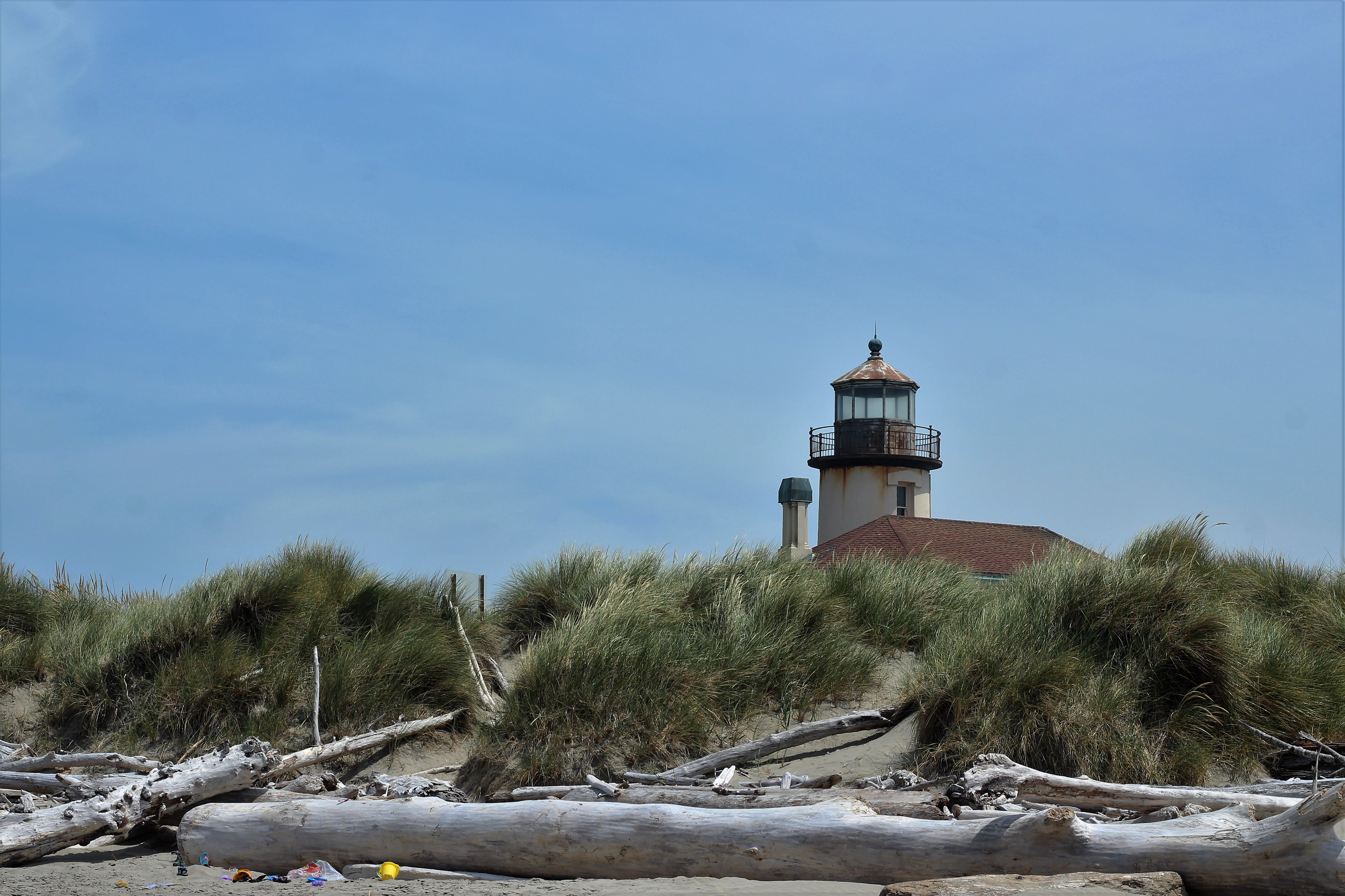 Free stock photo of lighthouse, oregon, coquille