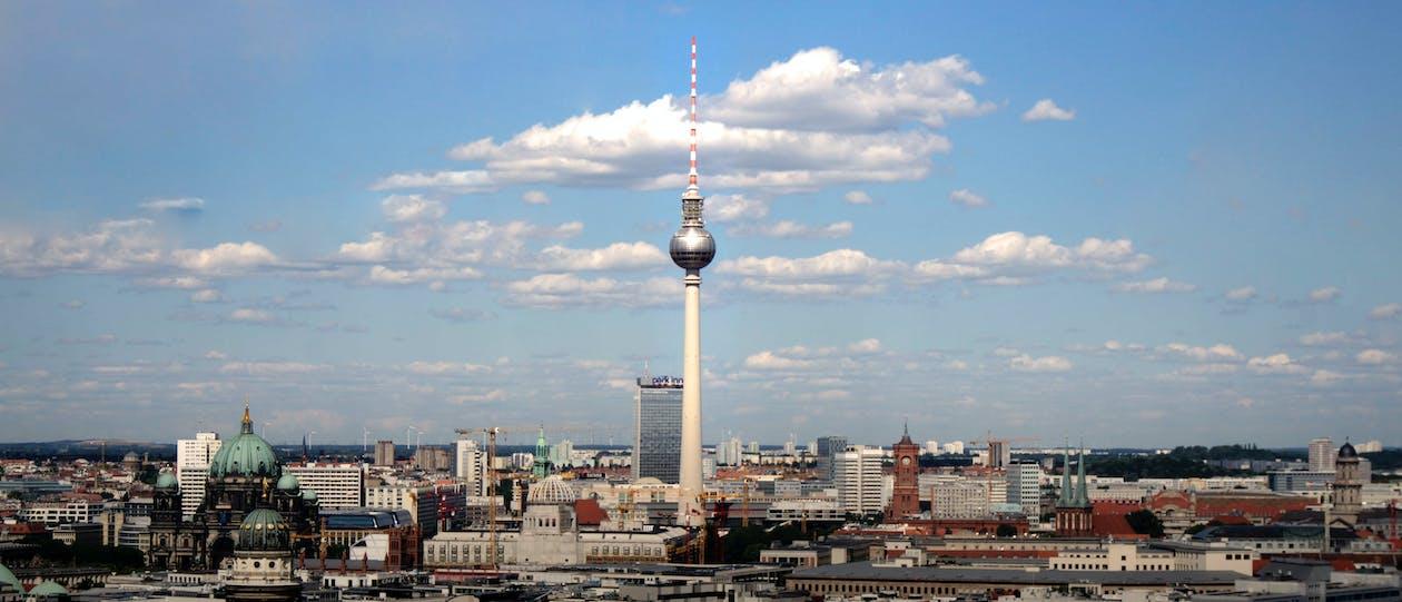 architettura, berlino, centro città