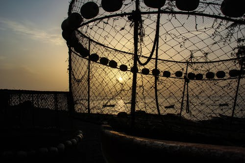 Free stock photo of fishing net