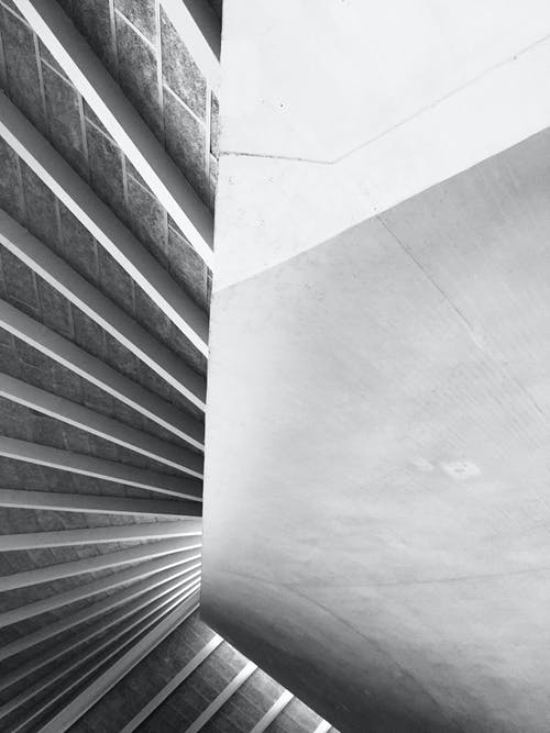 Immagine gratuita di bianco e nero, forme geometriche