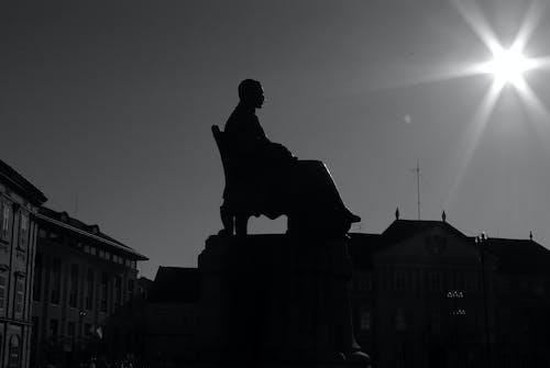 Immagine gratuita di bianco e nero, scultura monumentale, ungheria