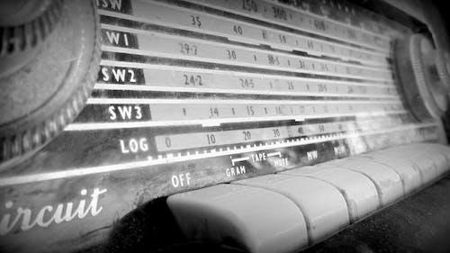 Free stock photo of radio, vintage