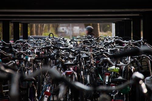 คลังภาพถ่ายฟรี ของ จักรยาน, พาณิชย์, รวมกลุ่ม, เมือง