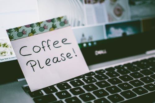 Coffee Please! Memo Pad