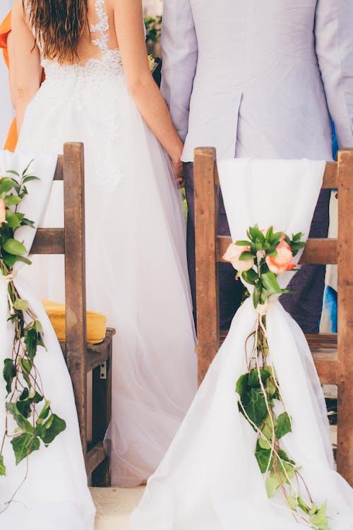 Ảnh lưu trữ miễn phí về Áo cưới, cắm hoa, cặp vợ chồng, chính thức