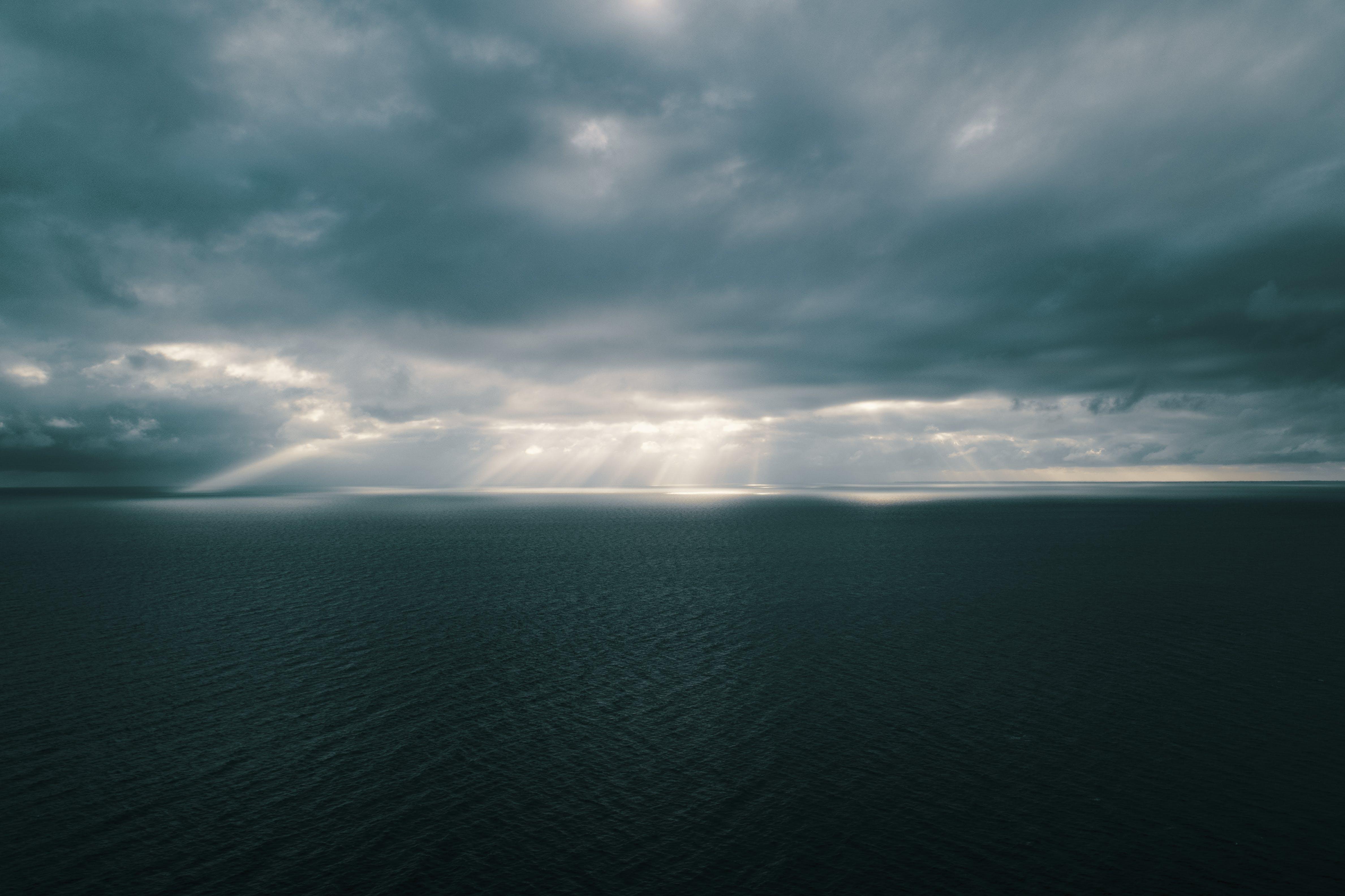 Kostenloses Stock Foto zu draußen, himmel, landschaft, meer